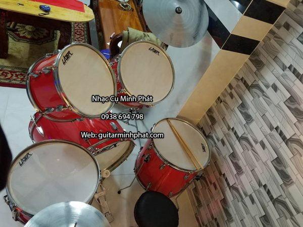 Mua bán trống jazz lazer màu đỏ - nhạc cụ Minh Phát
