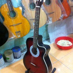 đàn guitar thùng dáng khuyết a