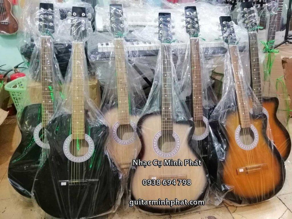 Mẫu đàn guitar giá rẻ tại cửa hàng nhạc cụ Minh Phát quận bình tân tphcm