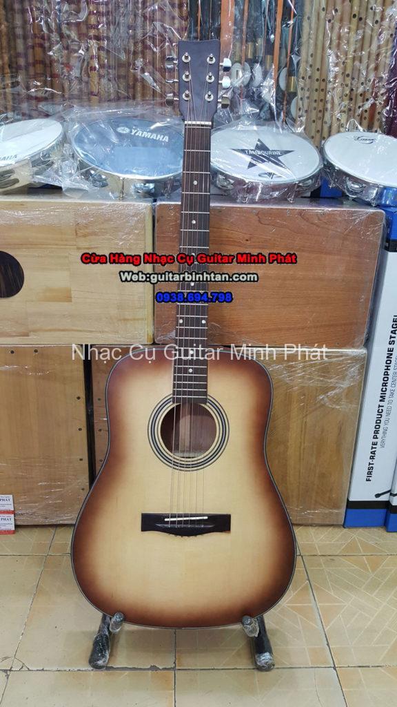Đàn guitar gỗ hồng đào thùng đầy giá rẻ