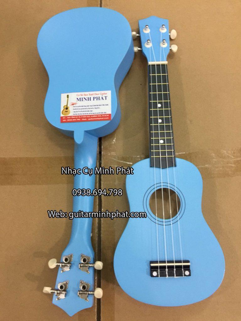 Đàn ukulele màu xanh dương - Nhạc Cụ Minh Phát
