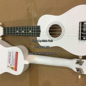 đàn ukulele giá rẻ màu trắng