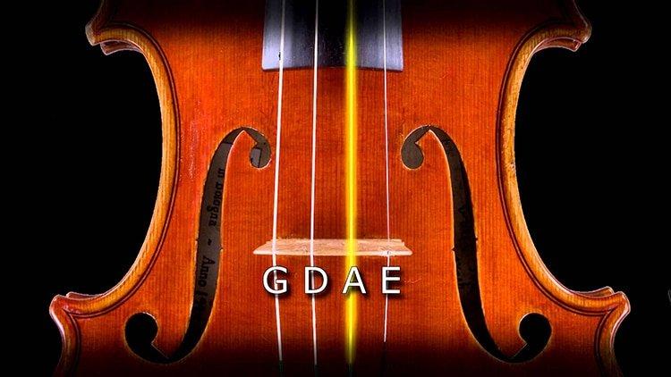 hướng dẫn cách lên dây đàn violin