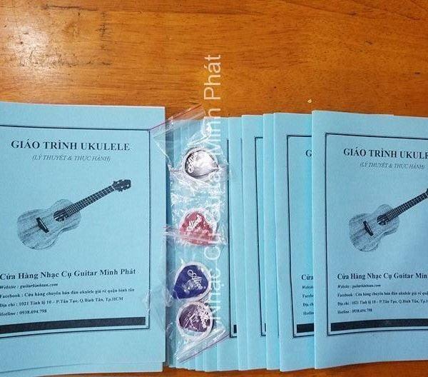 Sách học đàn ukulele căn bản