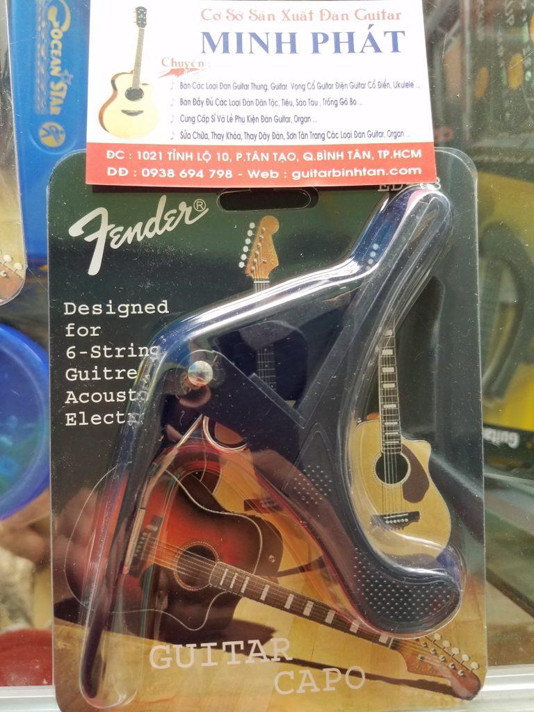Capo đàn guitar classic và guitar acoustic