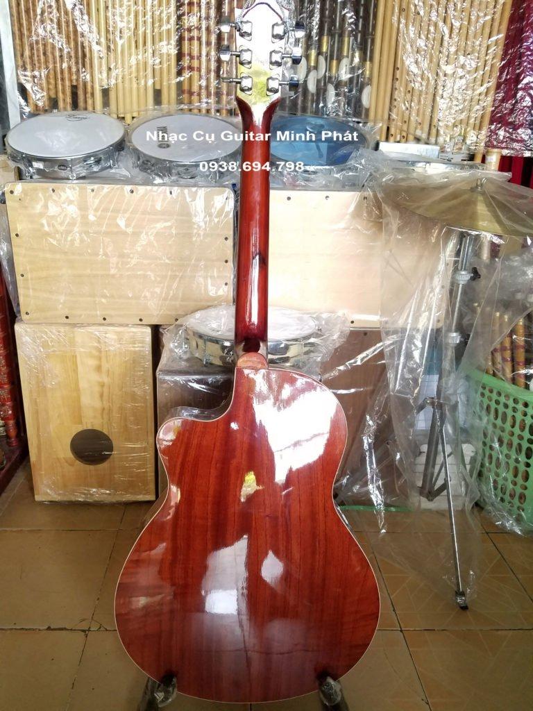 Đàn guitar gỗ hồng đào trung kỹ giá rẻ cho người mới chơi