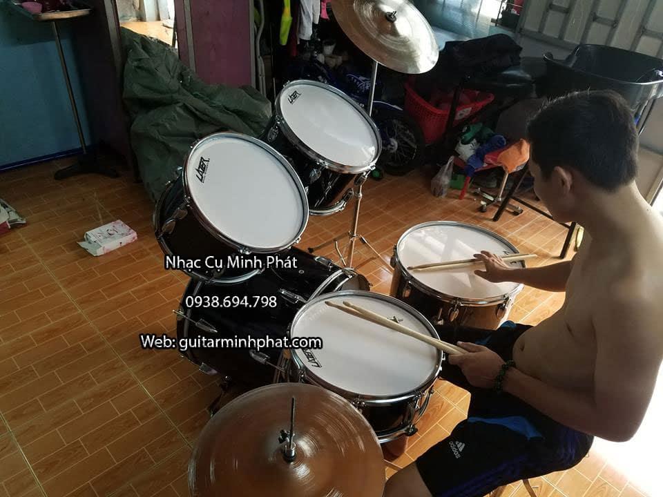Bộ trống jazz lazer giá rẻ tphcm