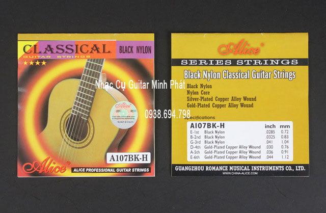 Dây đàn Classical A107BK-H