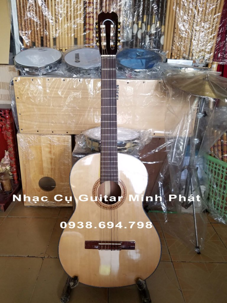 dan guitar classic go hong dao gia re binh tan