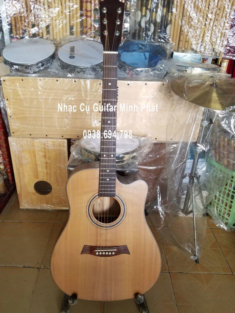 bán đàn guitar - Bán đàn guitar gỗ điệp