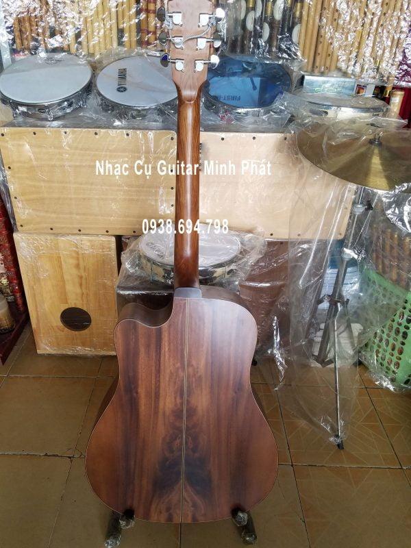 Lưng đàn guitar gỗ điệp
