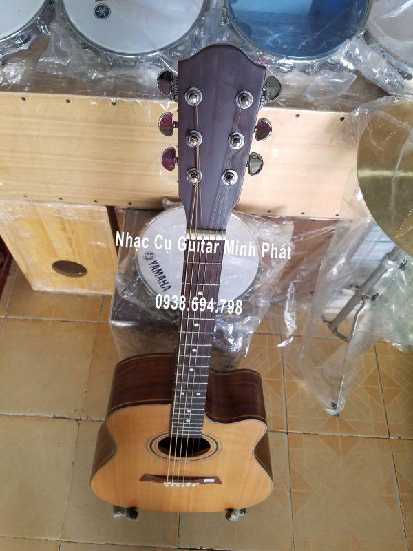 Đàn guitar acoustic gỗ điệp giá rẻ dáng khuyết A