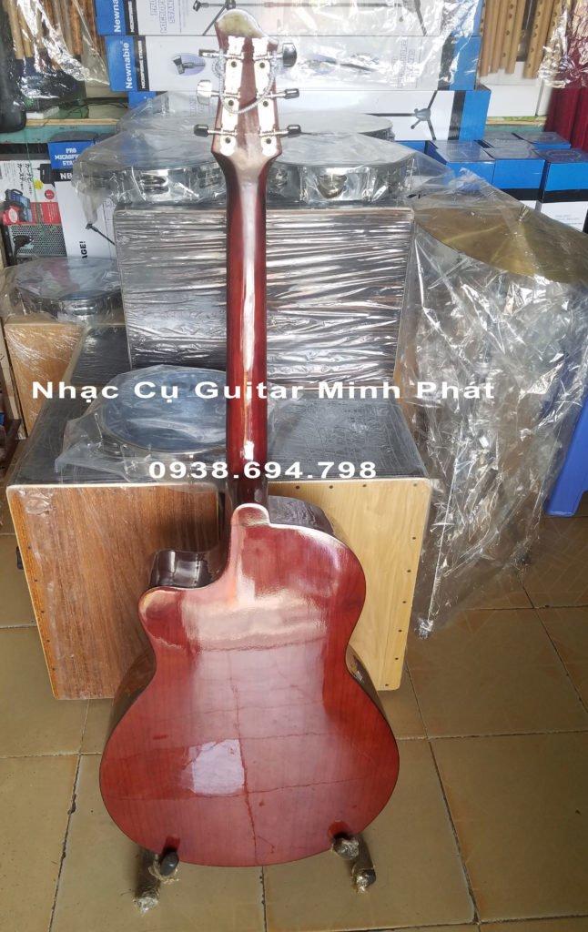 Đàn guitar acoustic gỗ hồng đào giá rẻ tphcm