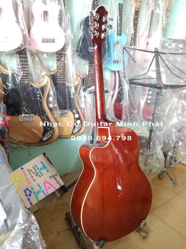 Đàn guitar gỗ hồng đào giá rẻ