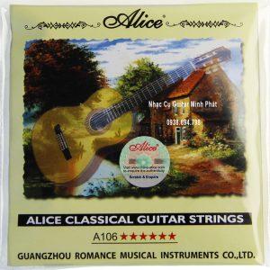 Dây Đàn Guitar Classic Alice A106