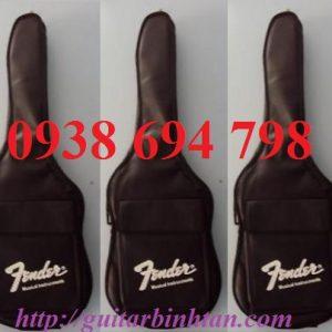 Bán bao đàn guitar điện Fender giá rẻ tại tphcm - Mua Bao đàn Guitar điện 3 Lớp Fender Đen Việt Nam