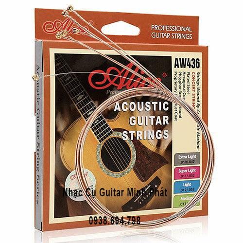 Dây Đàn Guitar Acoustic Alice AW436