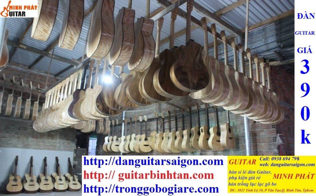 Xưởng sản xuất đàn guitar Minh Phát