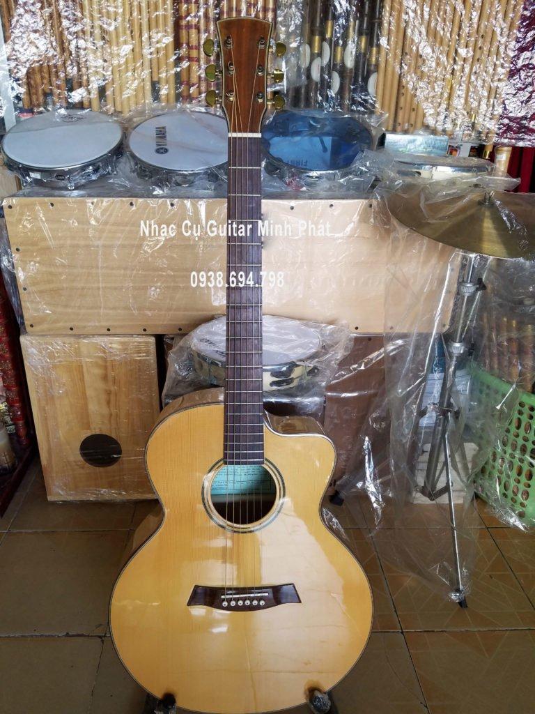 Đàn guitar gỗ maple tại tphcm
