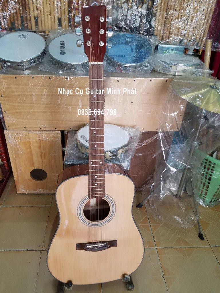 Guitar Acoustic Dáng D Gỗ Hồng Đào