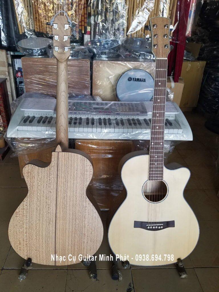 Đàn Guitar Acoustic gỗ sồi Pháp