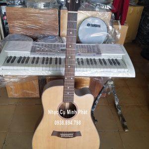 Đàn Guitar Acoustic Gỗ Điệp Dáng Khuyết D