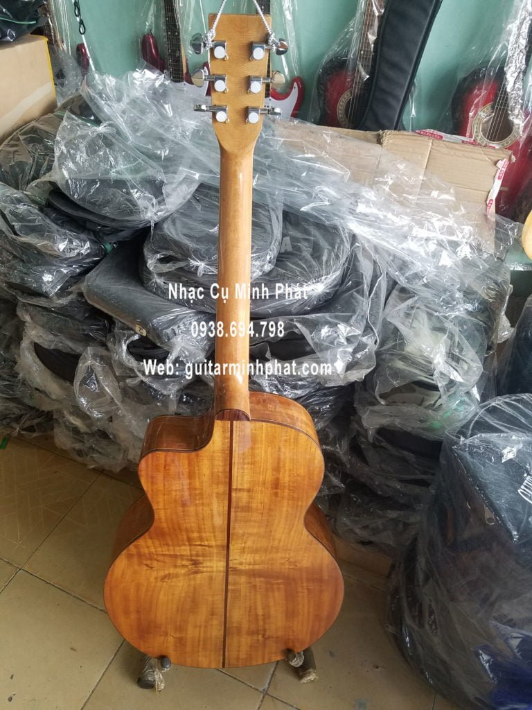 Bán đàn guitar acoustic gỗ KOA giá rẻ