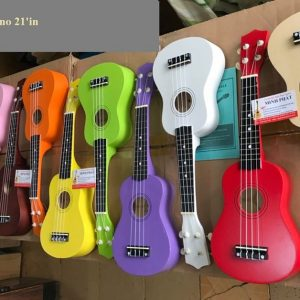 Ukulele soprano size 21'in – đủ màu phục vụ mùa lễ tết 2020 – Nhạc Cụ Minh Phát