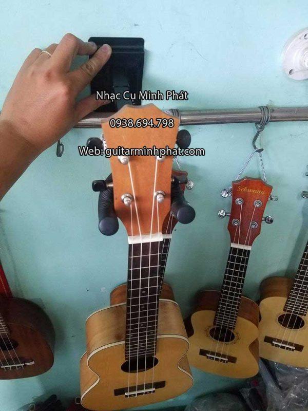 Giá treo guitar dài có thể treo được đàn ukulele, đàn guitar