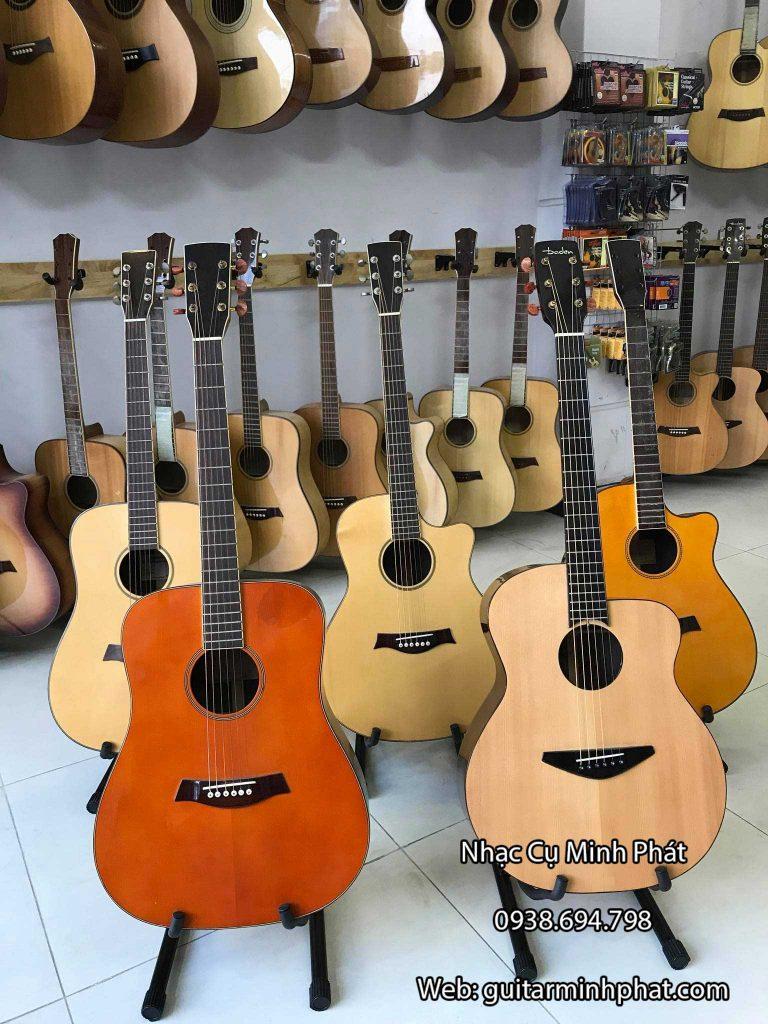 Cung cấp đầy đủ các mẫu đàn guitar acoustic, guitar classic tại quận 5 tphcm