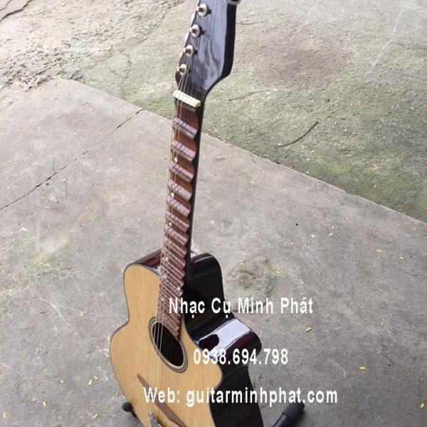 Đàn Guitar phím lõm gỗ hồng đào