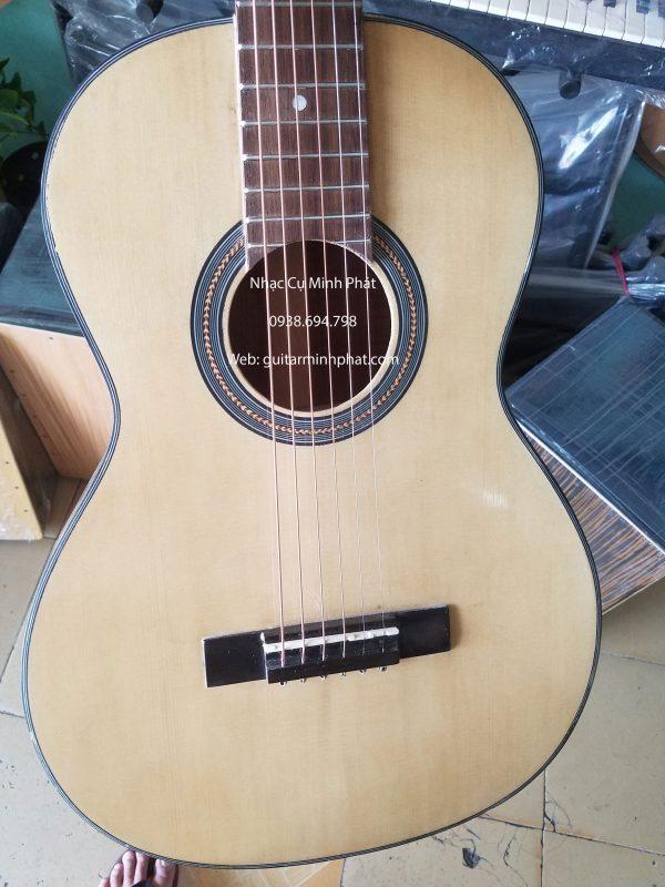 Đàn guitar mini đam gỗ hồng đào