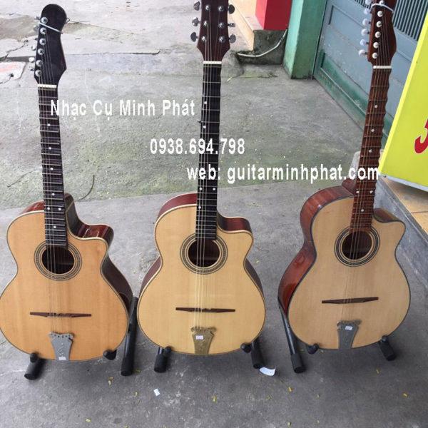 Bán Đàn guitar phím lõm gỗ hồng đào