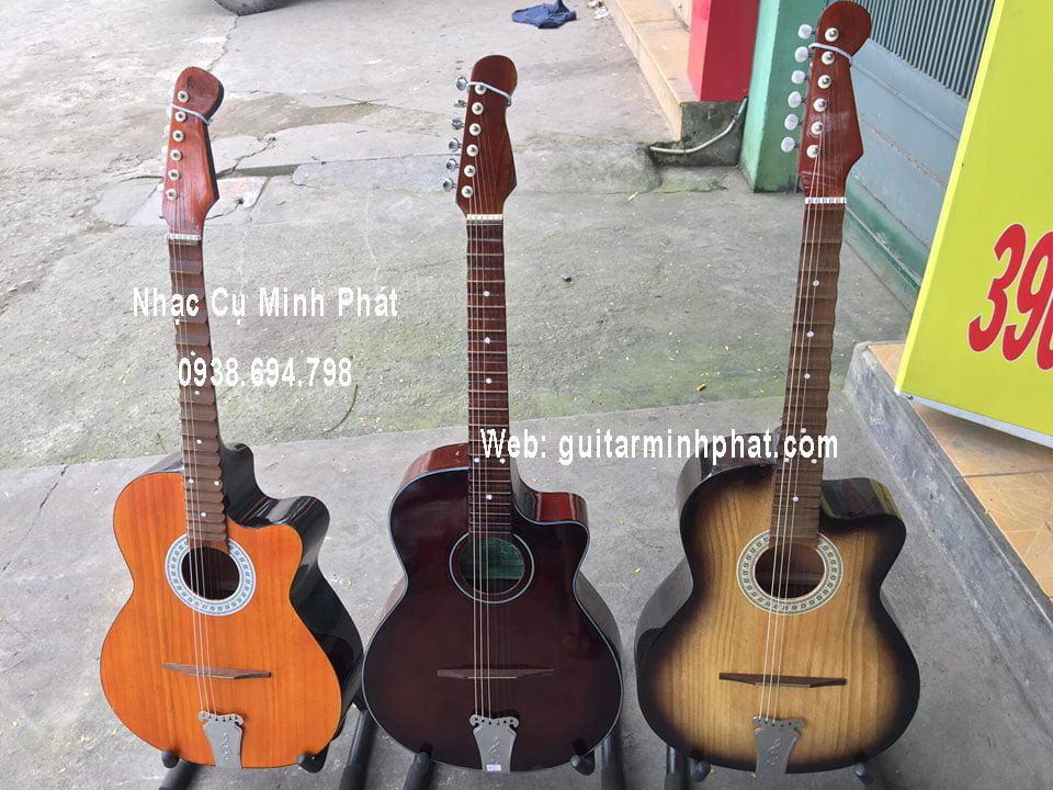 Đàn guitar phím lõm giá rẻ