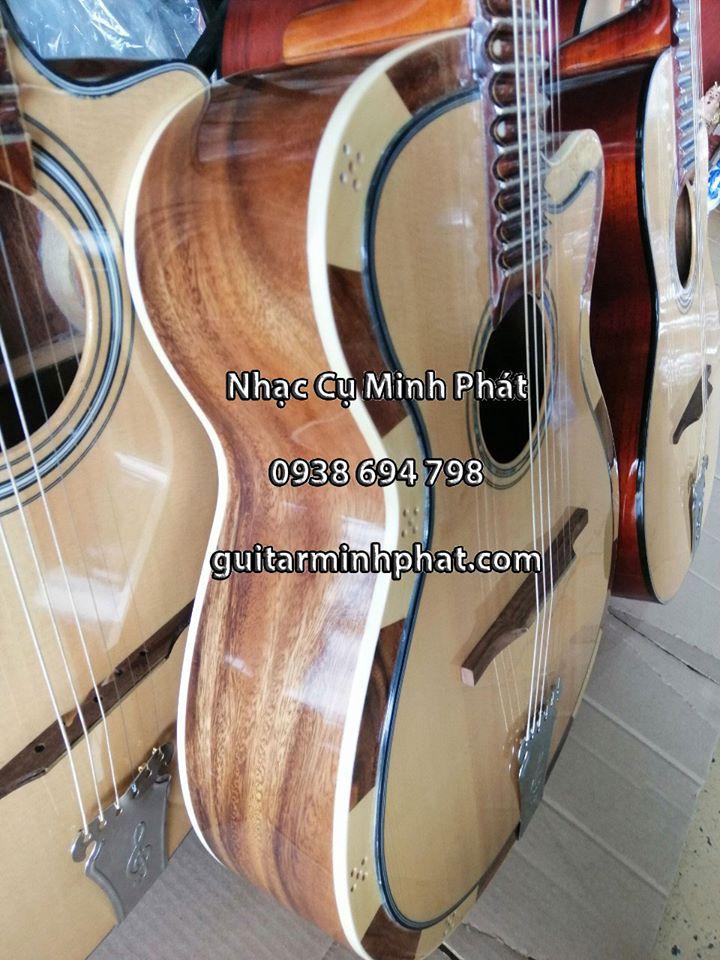 Mẫu đàn guitar phím lõm gồ điệp kỹ - liên hệ 0938 694 798 - Xem đàn tại cửa hàng