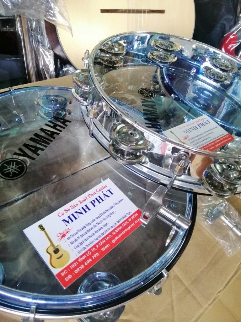 Cung cấp sỉ và lẻ trống gõ bo inox xi hàng nhập yamaha chất lượng tại Nhạc cụ Minh Phát