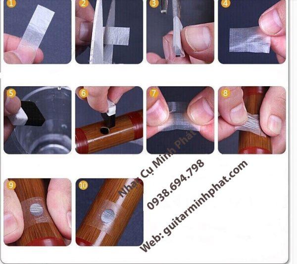 Cách dán màng rung