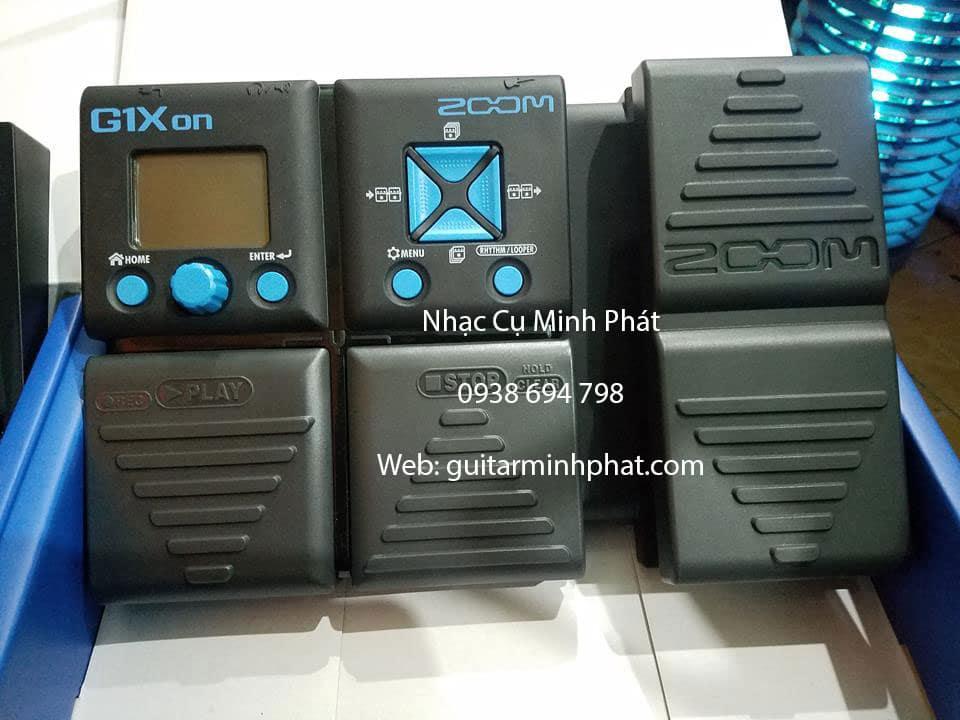 Phơ Đàn Guitar Zoom G1Xon giá rẻ ship toàn quốc
