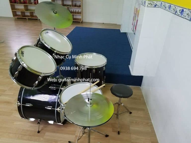 Dàn trống jazz lazer 5 drum giá rẻ tại nhạc cụ Minh Phát