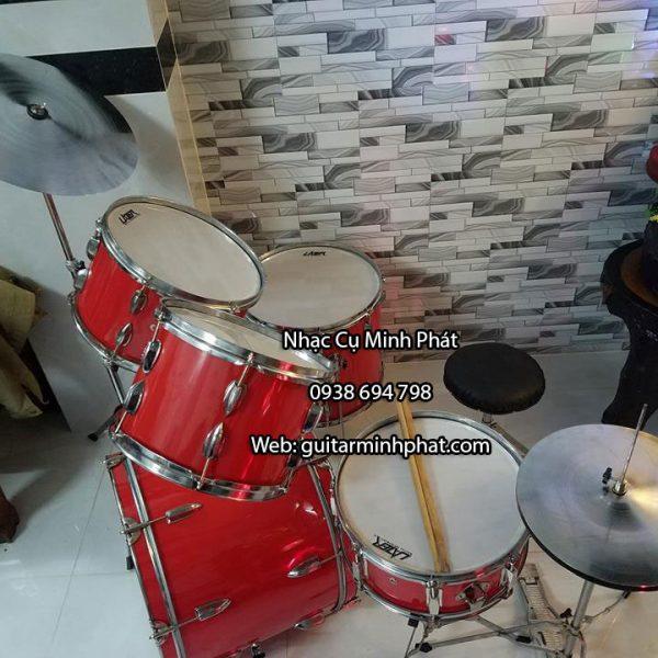 Bộ trống jazz màu đỏ giá rẻ