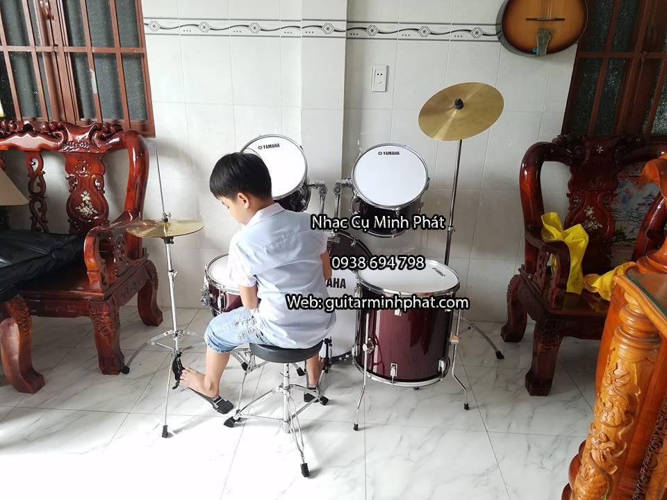 bộ dàn trống drum yamaha cho người mới tập chơi hoặc đi show