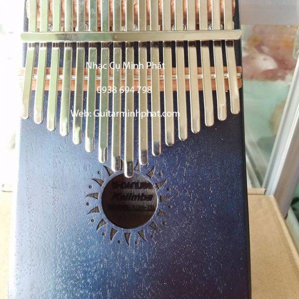 Đàn kalimba 17 phím giá rẻ mẫu màu đen