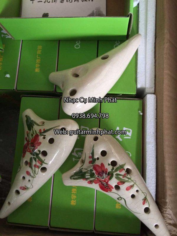 Cửa hàng bán kèn ocarina 12 lỗ sứ rạn cao cấp tại tphcm - nhạc cụ minh phát