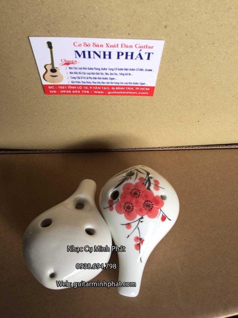 kèn ocarina 6 lỗ bằng sứ giá rẻ tại tphcm