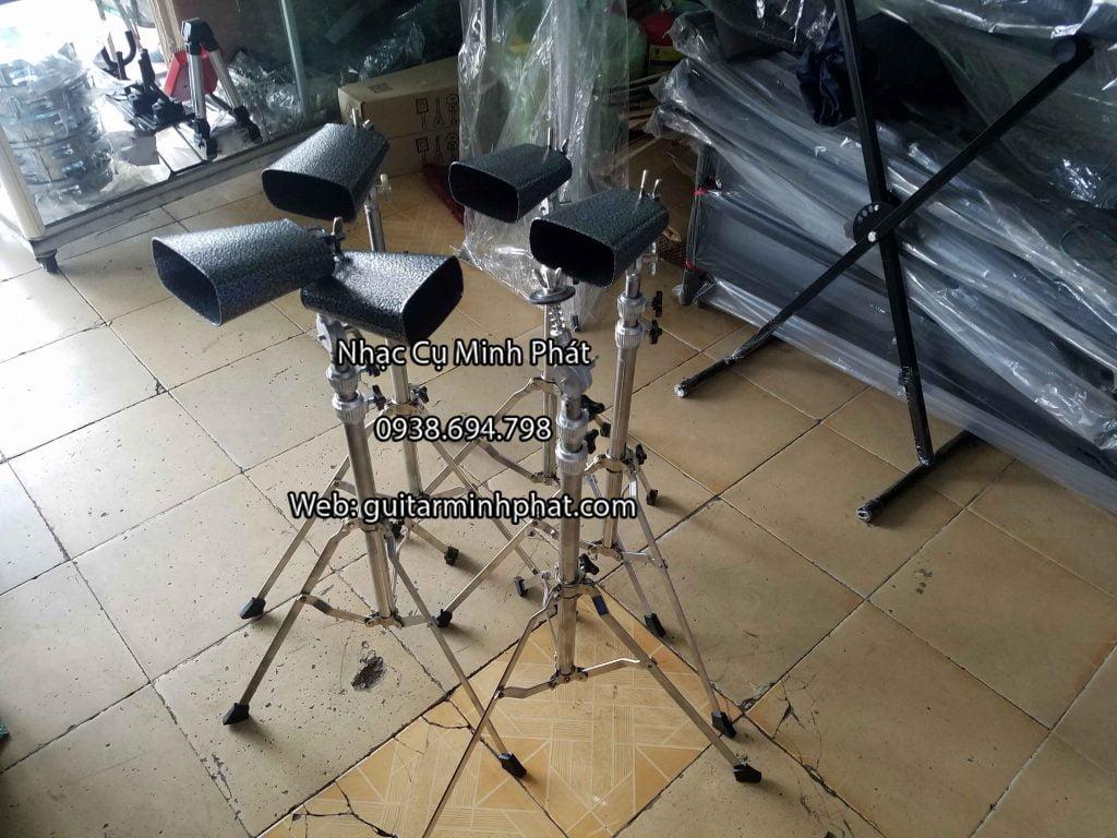 Bán chân cymbal và chuông mõ trống jazz giá rẻ - nhạc cụ Minh Phát quận bình tân tphcm