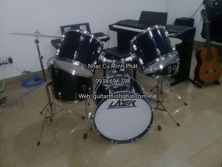 Bộ trống jazz giá rẻ - Mua bộ trống jazz lazer 5 trống tại cửa hàng nhạc cụ Minh Phát quận bình tân tphcm - ship toàn quốc