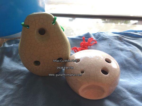 Bán kèn ocarina 6 lỗ bằng men sứ, sứ rạn cao cấp mẫu mã đa đạng chất lượng tại tphcm