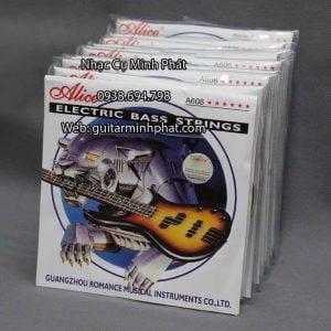 BộDây đàn guitar Bass Alice A606 giá rẻ - Nhạc Cụ Minh Phát