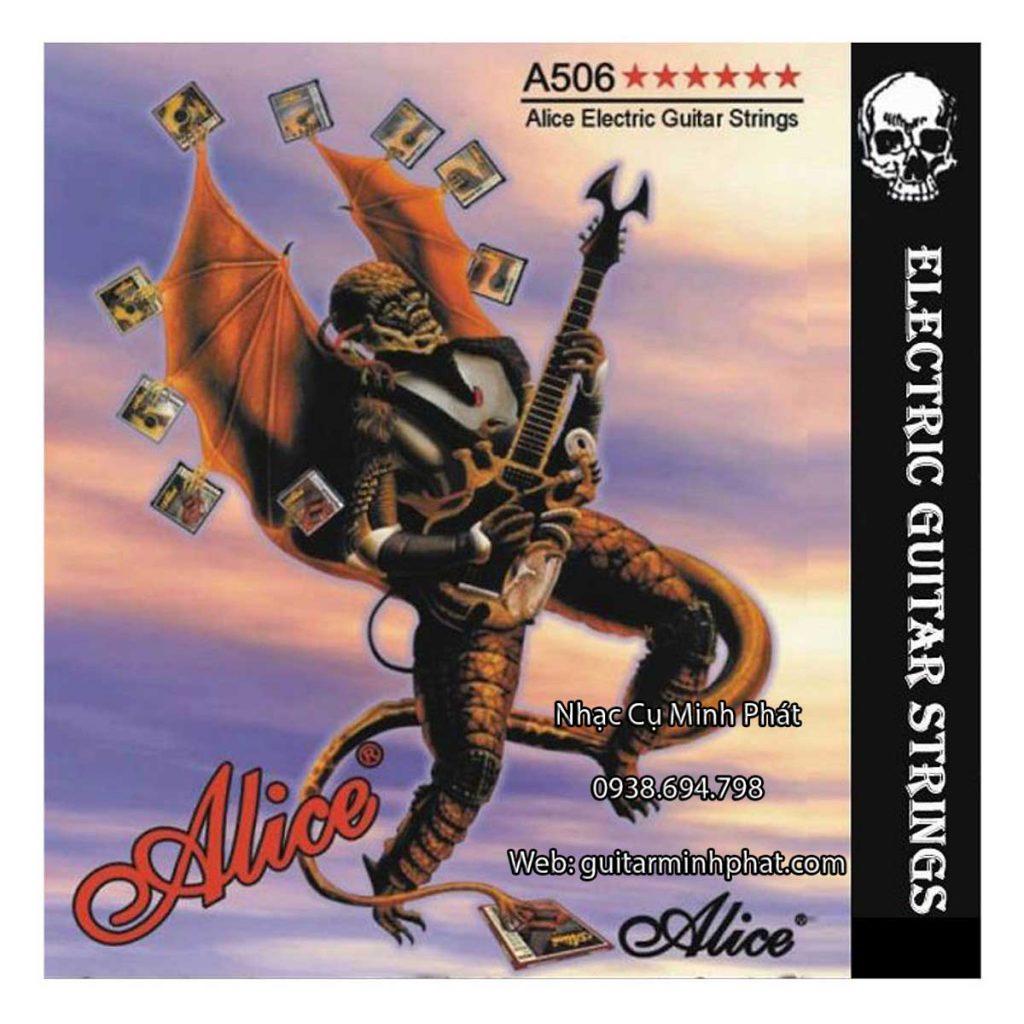 Dây đàn guitar điện Alice A506 - Nhạc Cụ Minh Phát