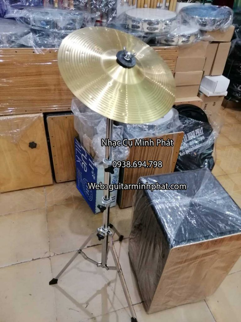 cymbal trống cajon